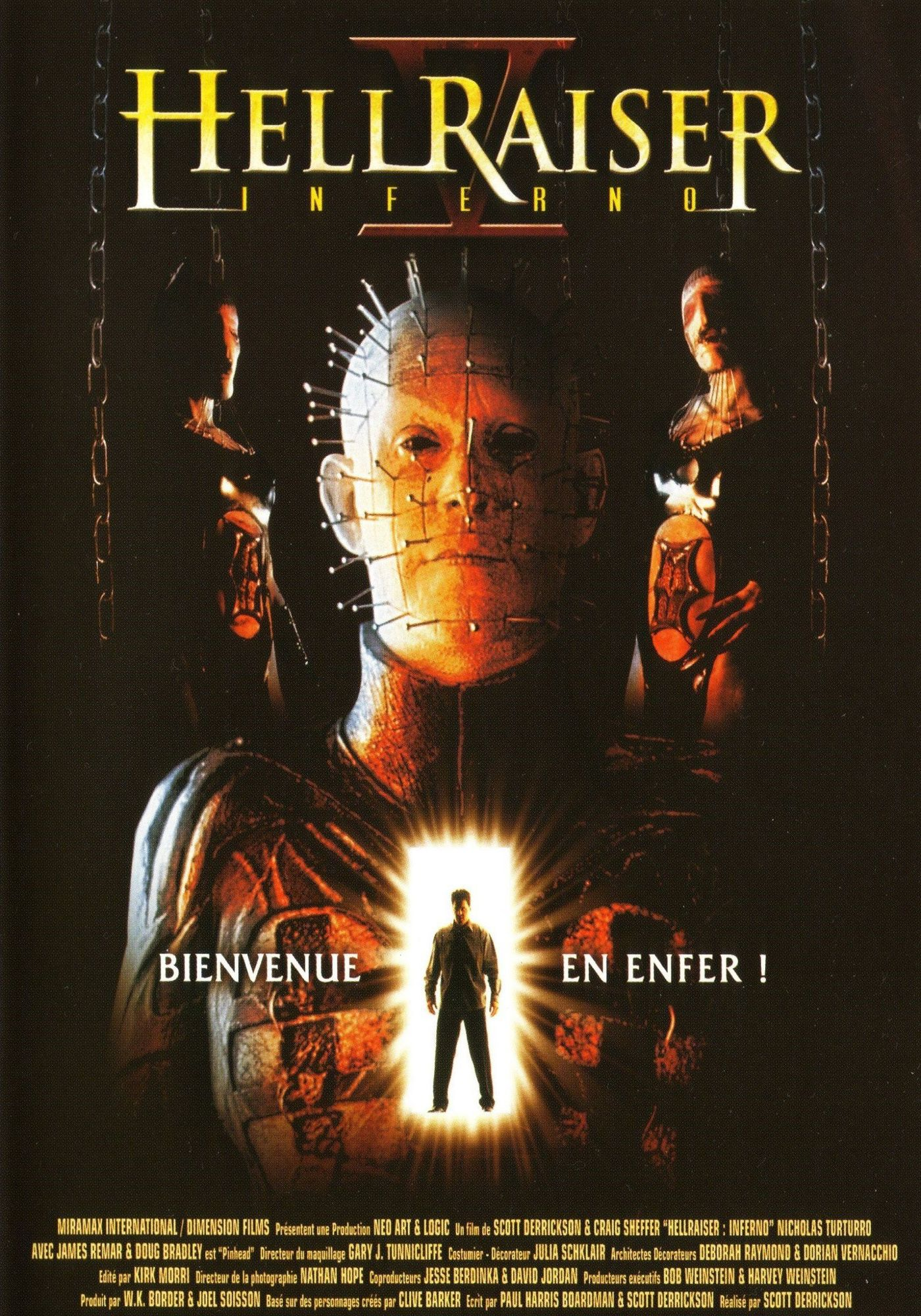 Affiche Poster hellraiser inferno disney dimension