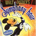 Affiche Poster heure symphonique hour symphony disney mickey