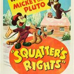 Affiche Poster locataire mickey squatter rights disney