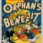 Affiche Poster mickey bienfaiteur orphan benefit disney