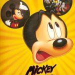 Affiche Poster mickey perd tête runaway brain disney