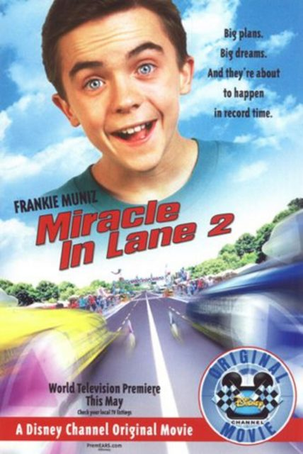 Affiche Poster miracle deuxieme ligne lane 2 disney channel