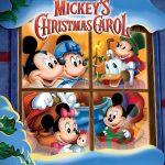 Affiche Poster noel mickey christmas carol disney