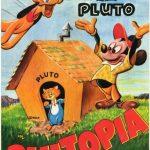 Affiche Poster plutopia mickey disney