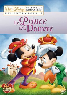 Affiche Poster prince pauvre pauper mickey disney