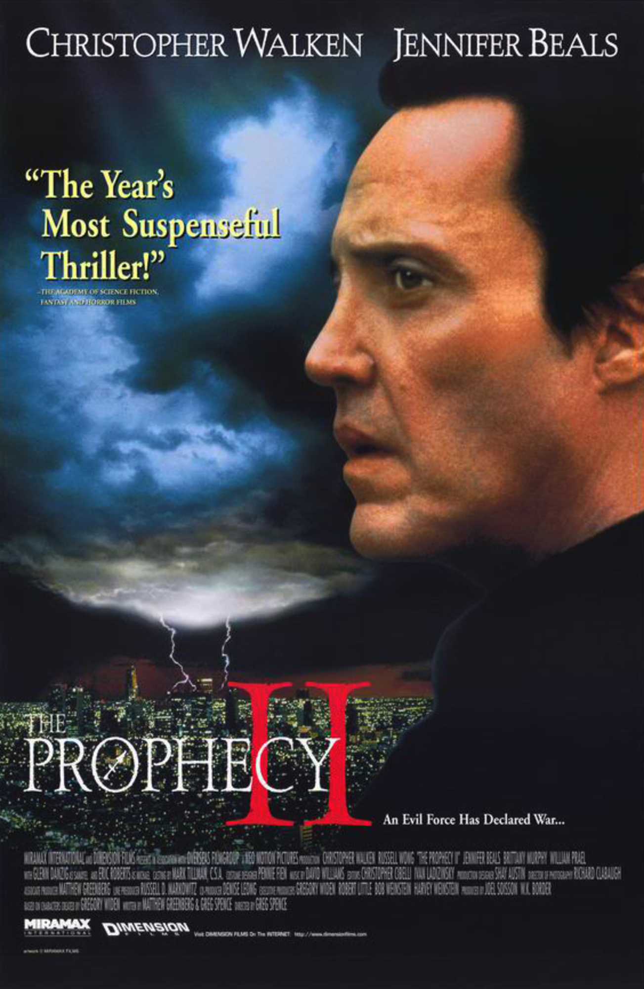 Affiche poster prophecy 2 disney dimension