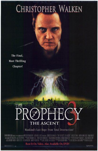 Affiche Poster prophecy 3 ascent disney dimension