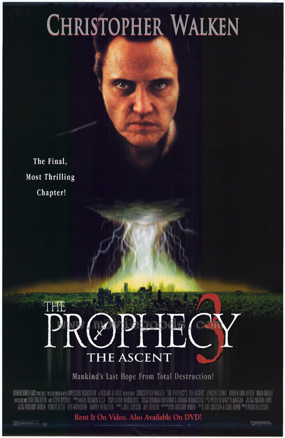 Affiche Poster prophecy 3 ascent disney dimension