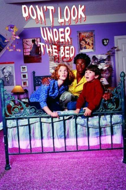 Affiche Poster regarde pas sous lit look under bed disney channel