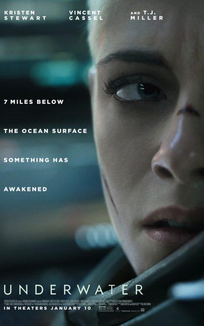 Affiche Poster Underwater disney fox
