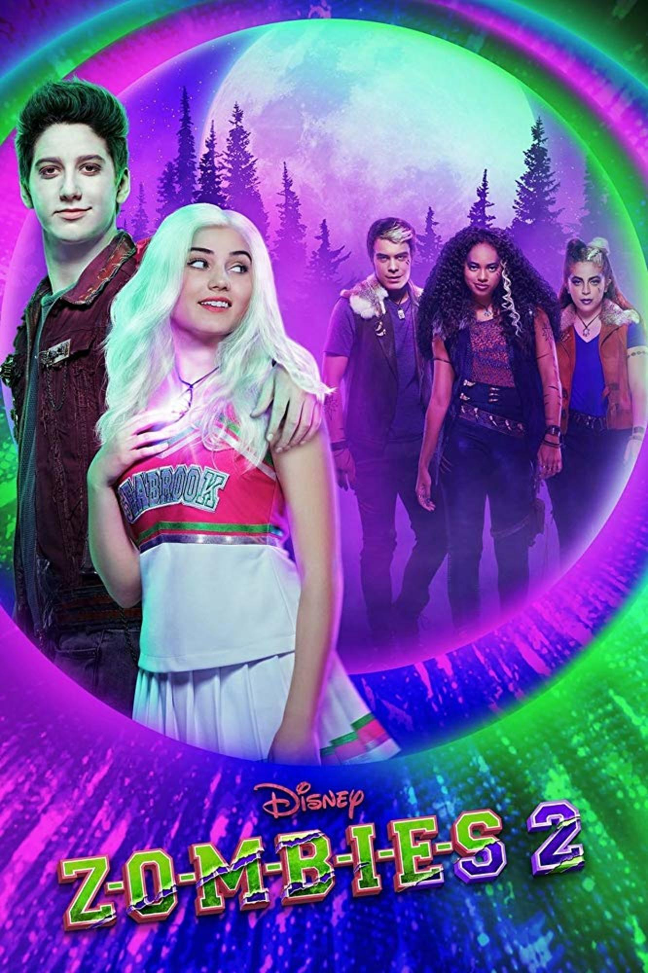 affiche poster zombies 2 disney channel