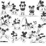 Artwork cheval get horse mickey disney