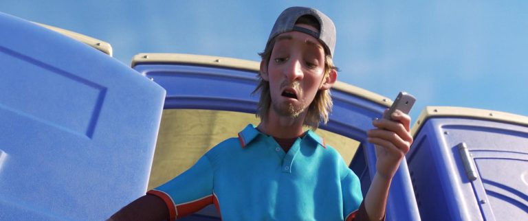 """Axel, personnage dans """"Toy Story 4""""."""
