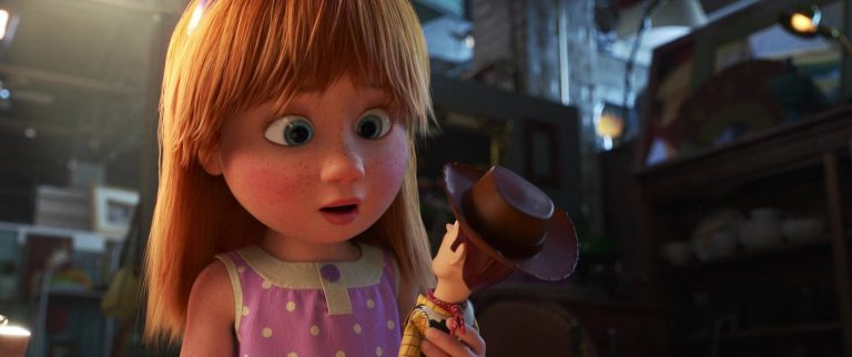 """Harmony, personnage dans """"Toy Story 4""""."""