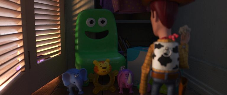 """Eric Hochet, personnage dans """"Toy Story 4""""."""