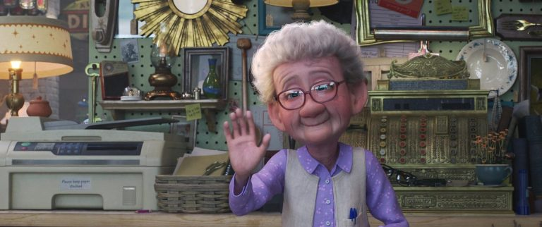 """Margaret, personnage dans """"Toy Story 4""""."""