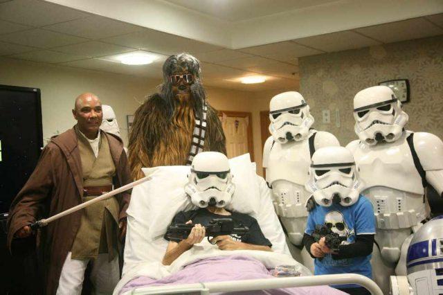 star wars disney lucasfilm rowans hospice