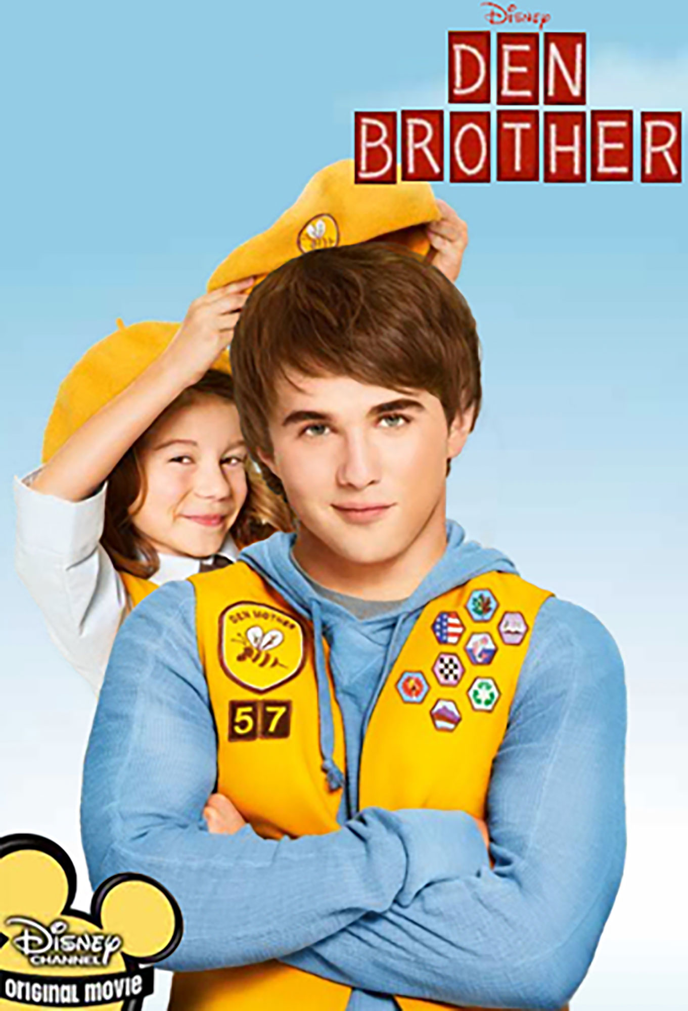 affiche poster bienvenue scout den brother disney channel