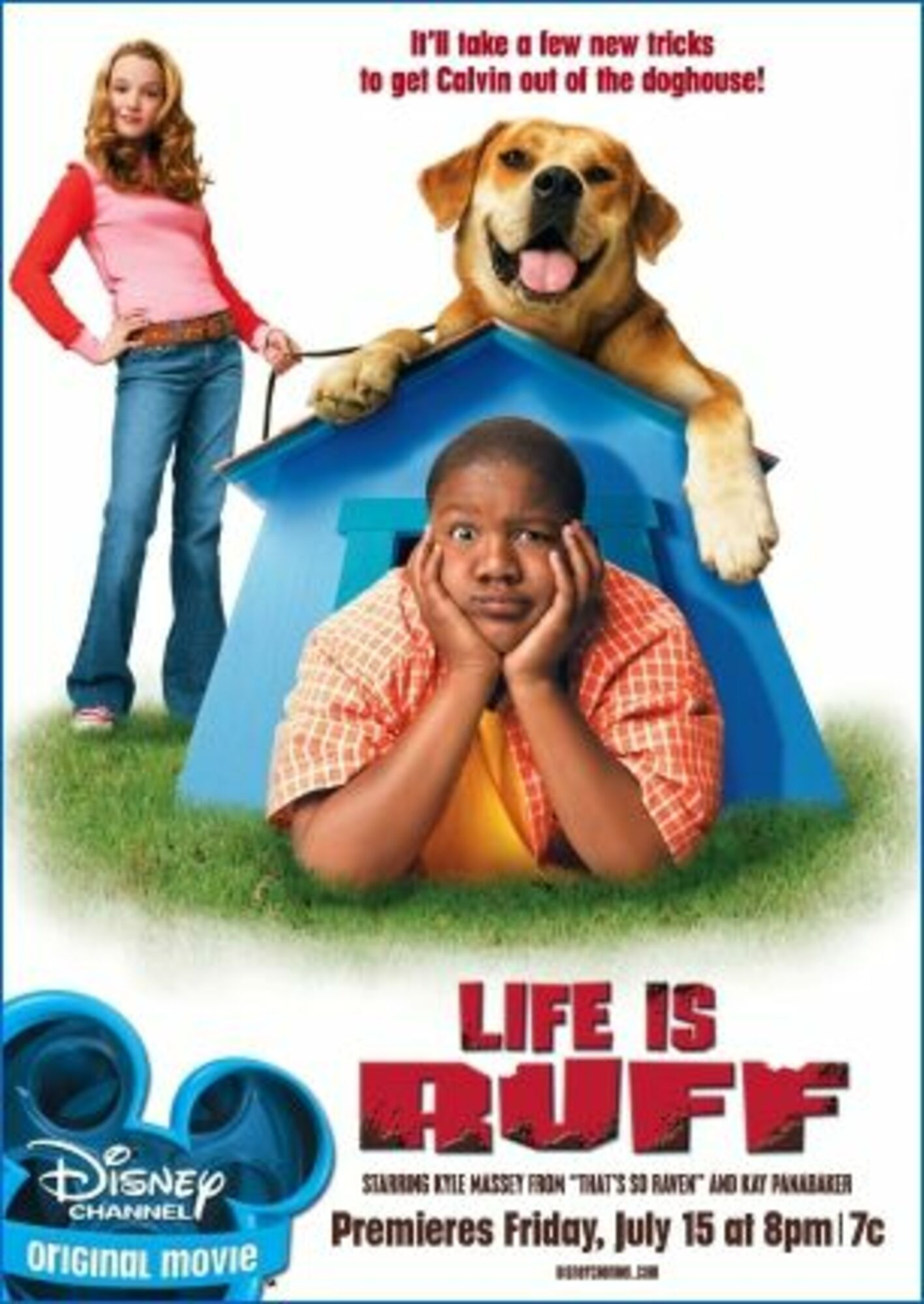 Affiche poster calvin tyco life ruff disney channel