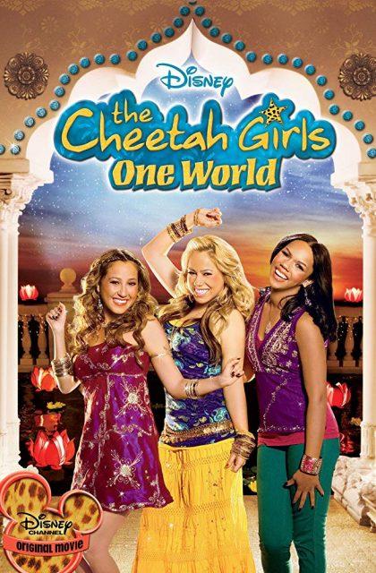 Affiche Poster cheetah girls monde unique one world disney channel