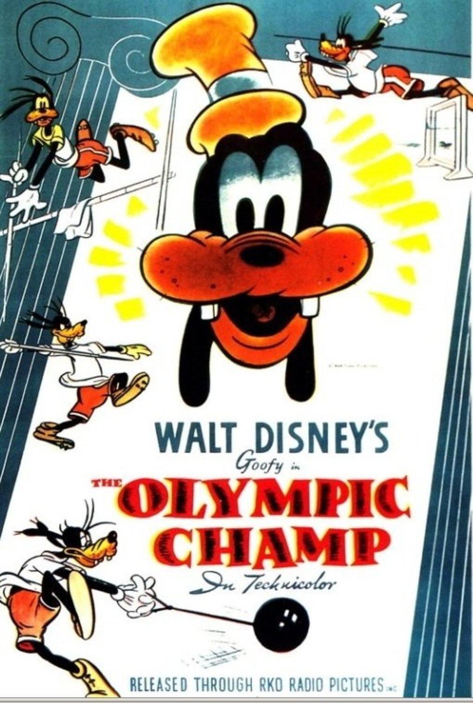 Affiche Poster dingo champion olympique champ goofy disney