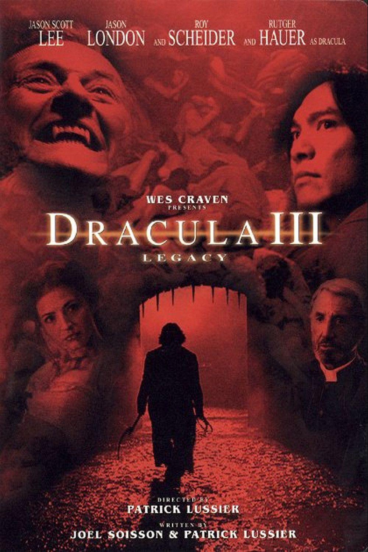 Affiche Poster dracula 3 héritage legacy disney dimension