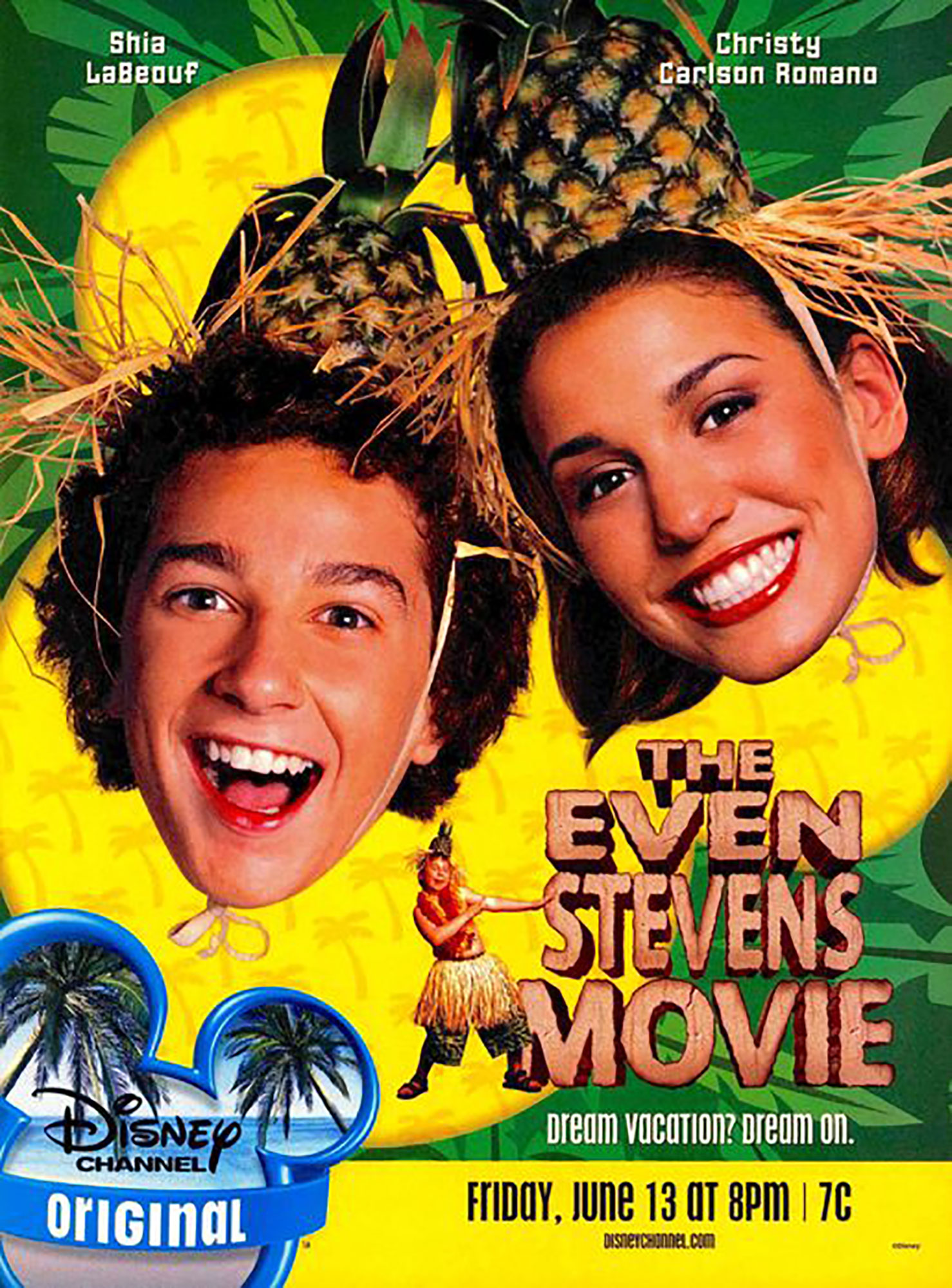 Affiche poster droles vacances even stevens movie disney channel