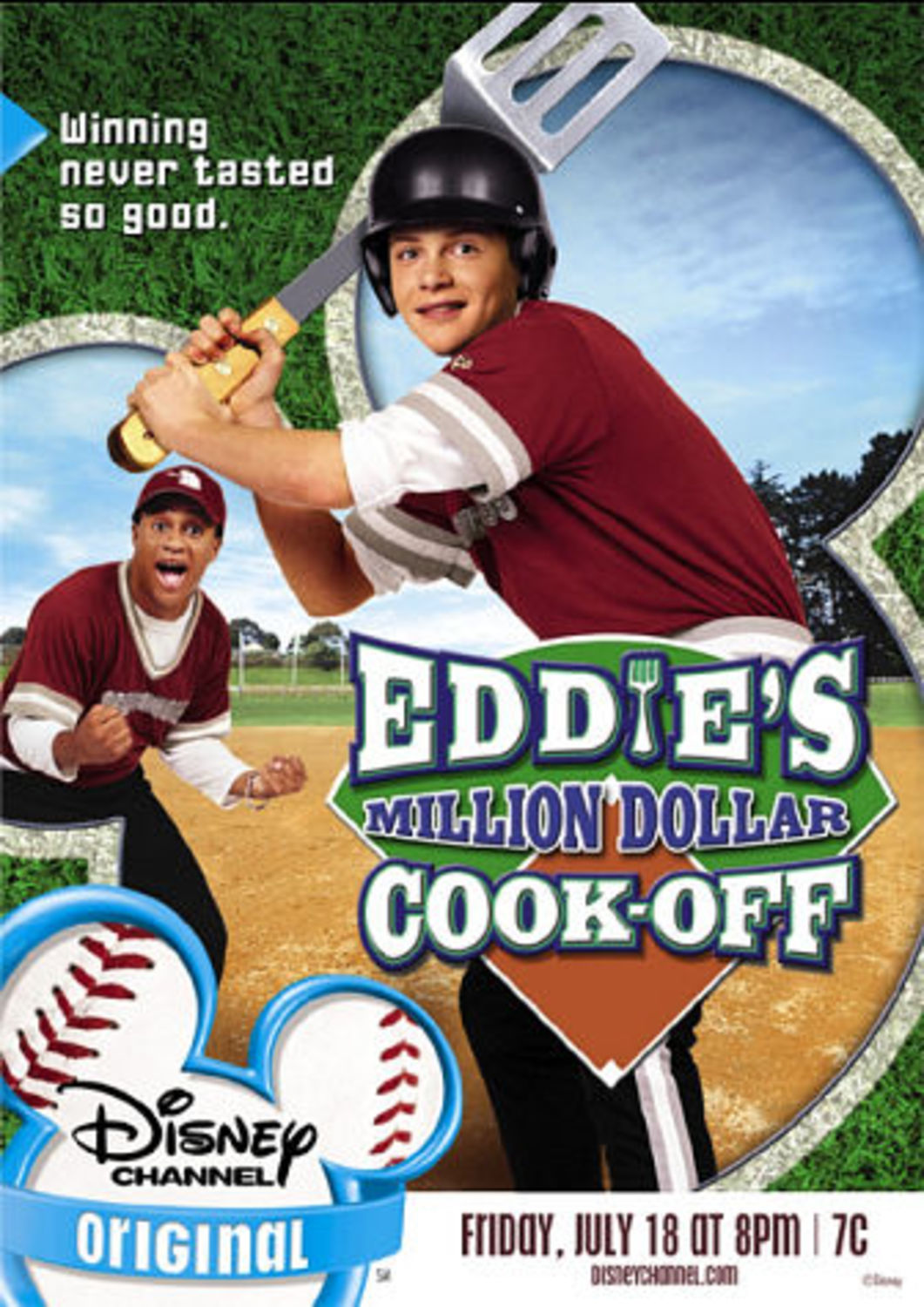 Affiche poster equipe chef eddie cook off million dollar disney channel