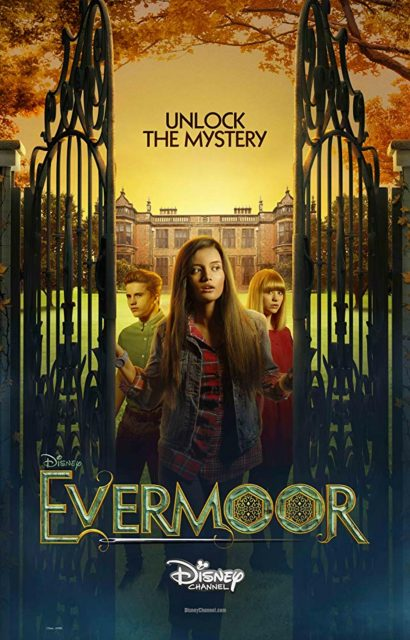 affiche poster evermoore héritage maudit chronicles disney channel