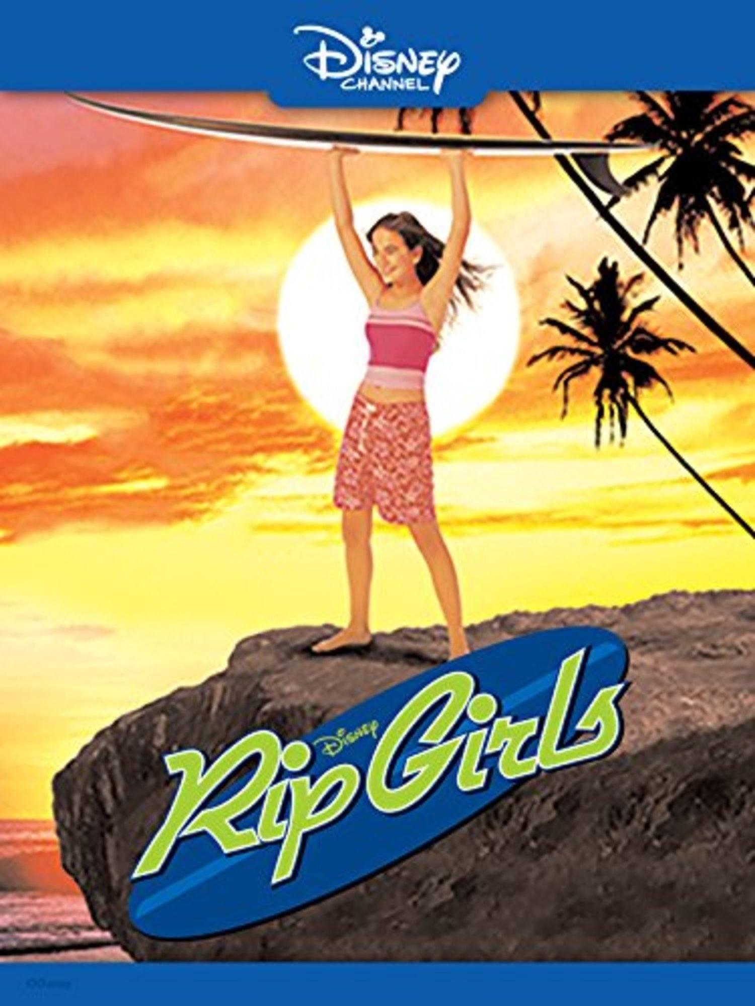 affiche poster filles océan rip girls disney channel