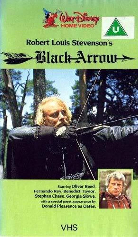 affiche poster fleche noire black arrow disney channel
