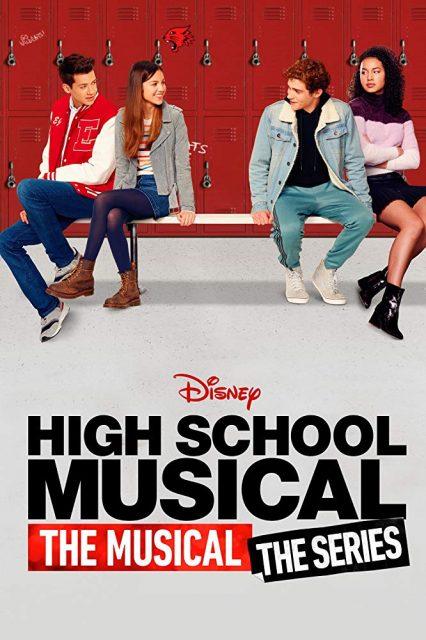 affiche poster high school musical serie disney plus