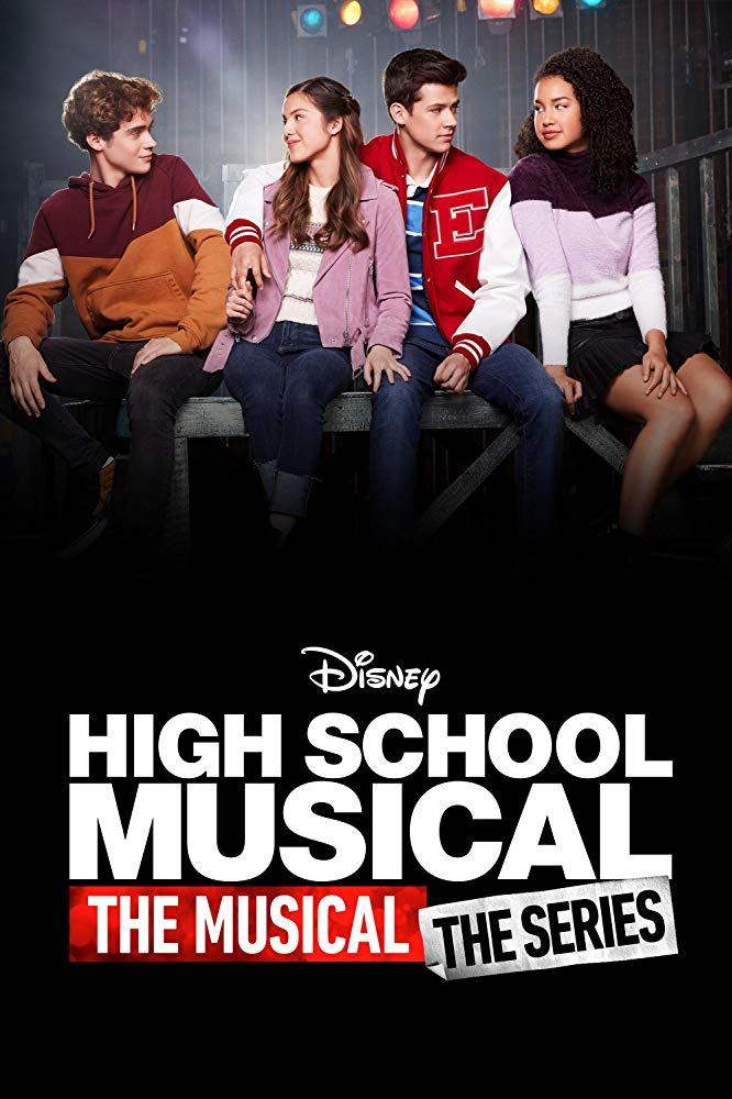 affiche poster high school musical serie disney plus
