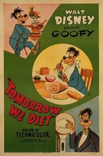 affiche poster jeunera demain tomorrow diet dingo goofy disney