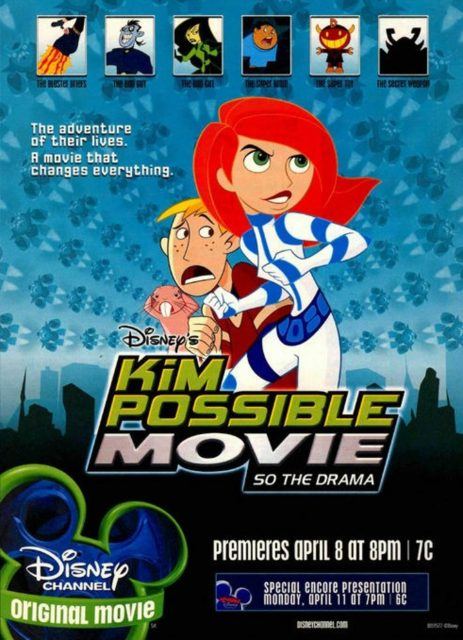 affiche poster kim possible mission cupidon film drama disney channel