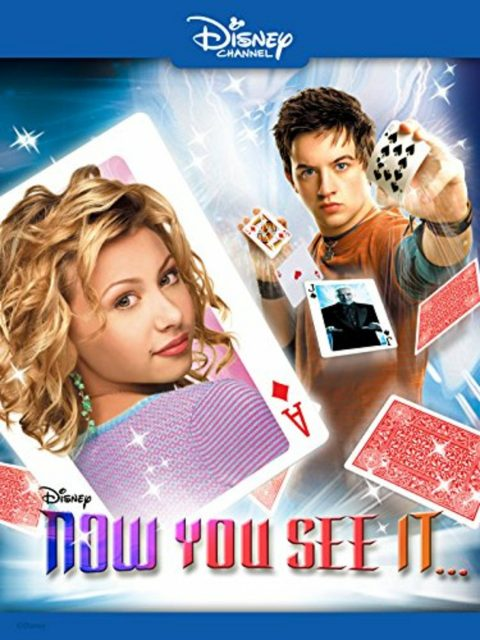 Affiche poster manoir magie now you see disney channel