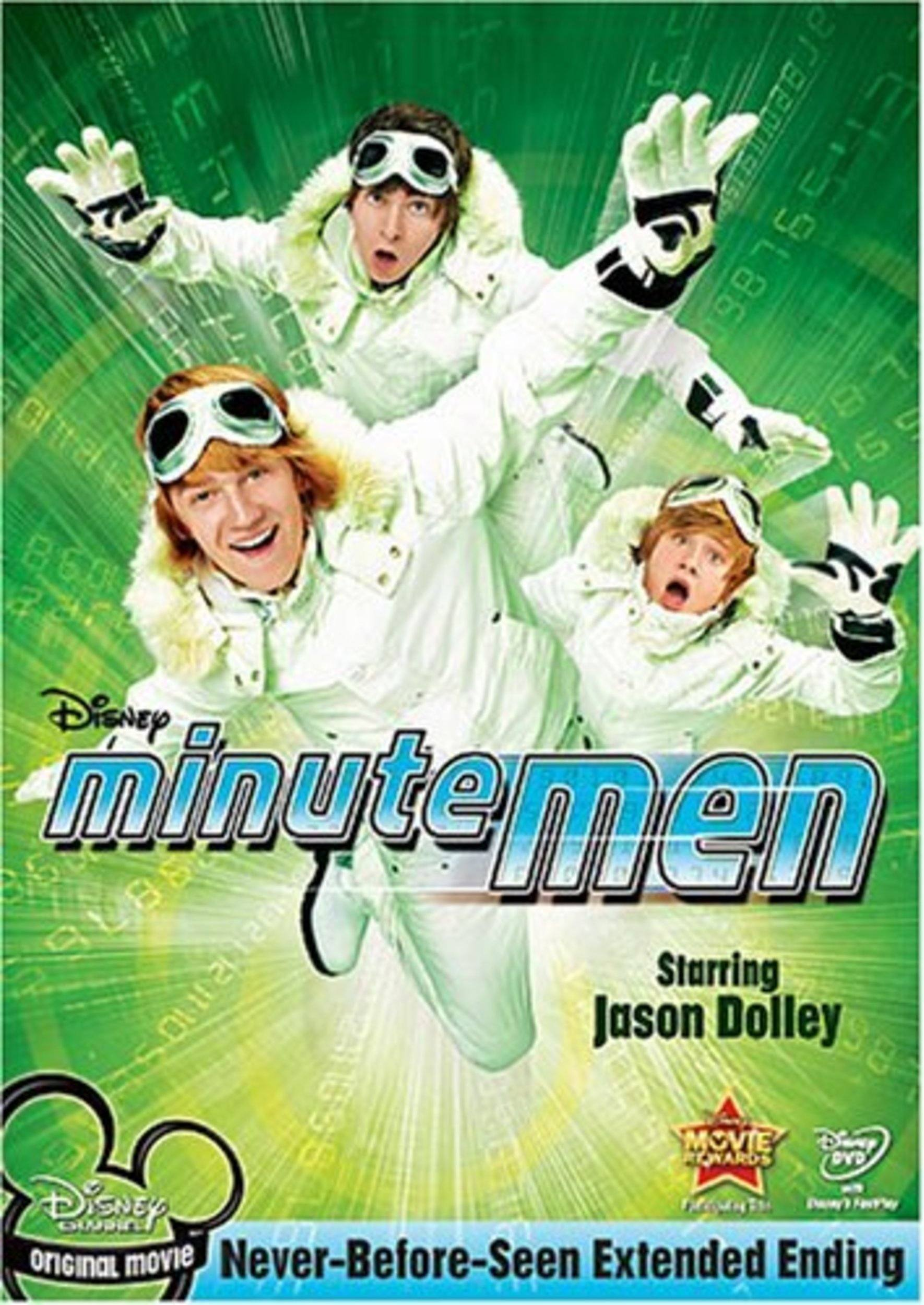 Affiche poster minutemen justiciers temps disney channel