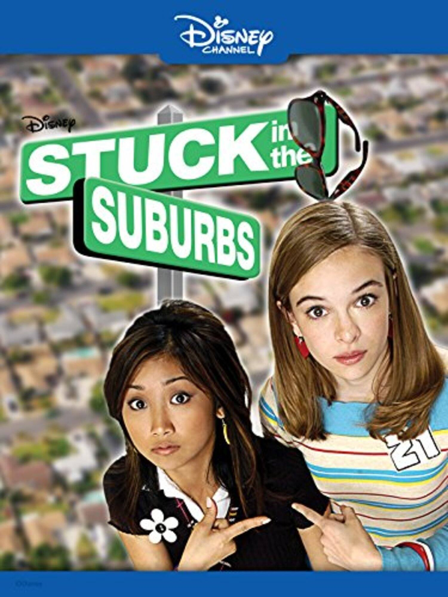 Affiche poster naissance nouvelle star stuck suburbs disney channel