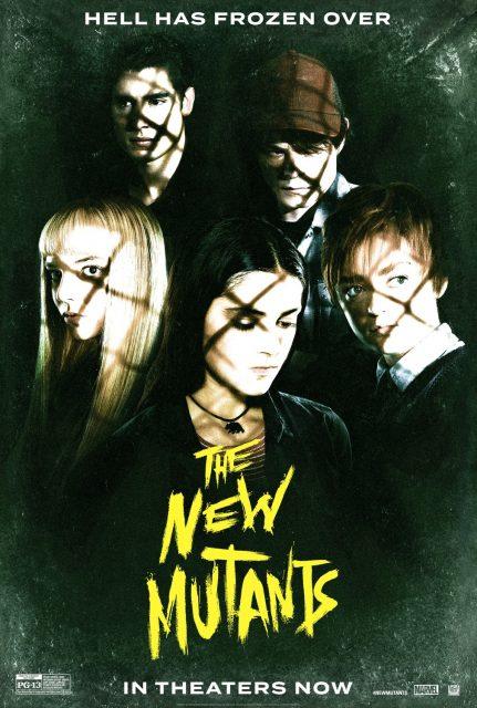 Affiche poster nouveaux new mutants disney fox marvel