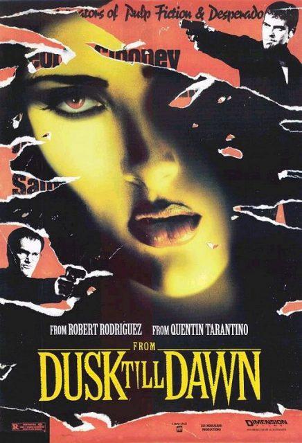 Affiche poster nuit enfer dusk dawn disney dimension miramax