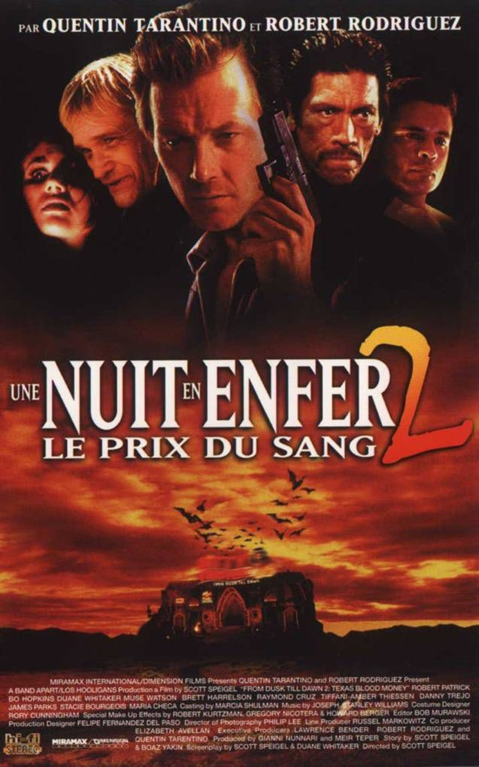 Affiche poster nuit enfer 2 prix sang From Dusk Till Dawn Texas Blood Money disney dimension