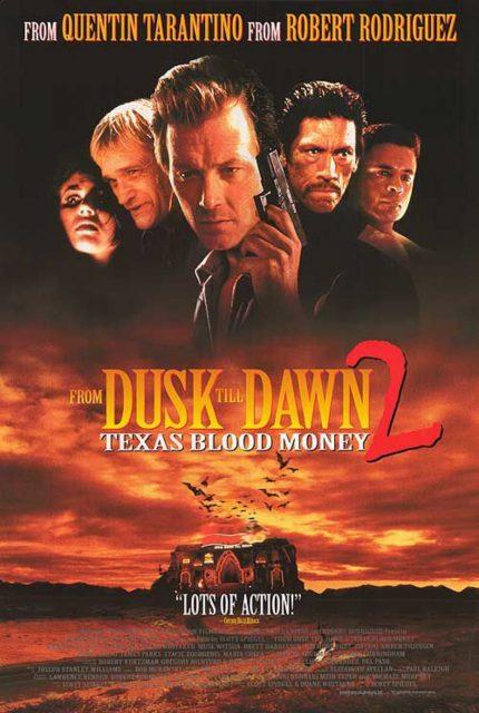 Affiche poster nuit enfer 2 prix sang From Dusk Till Dawn Texas Blood Money disney dimension