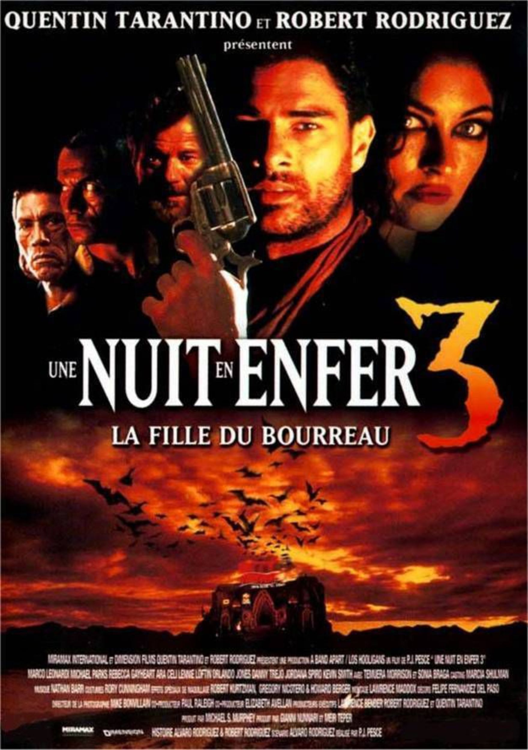 Affiche Poster nuit enfer 3 fille bourreau dusk dawn hangman daughter disney dimension