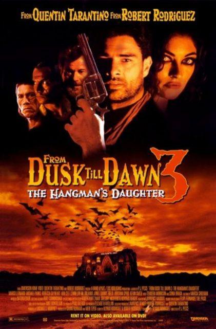 Affiche Poster nuit enfer 3 fille bourreau dusk dawn hangman daughter disney dimension