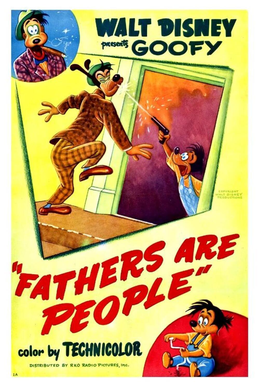 affiche poster papa dingo fathers people disney goofy