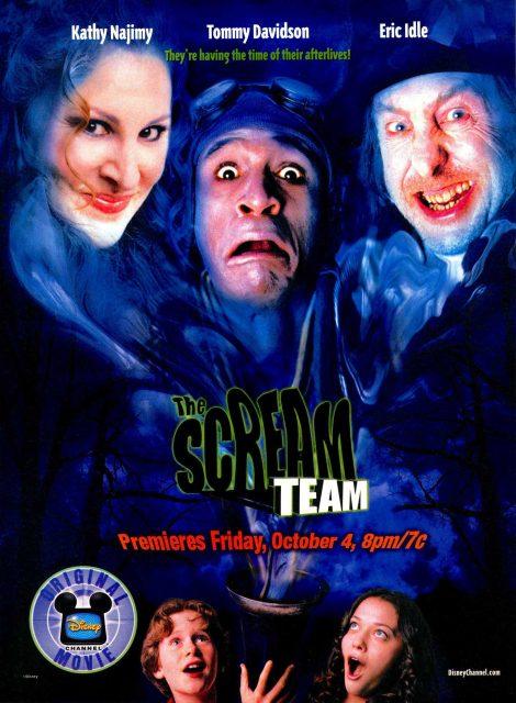 Affiche Poster patrouille fantôme scream team disney channel