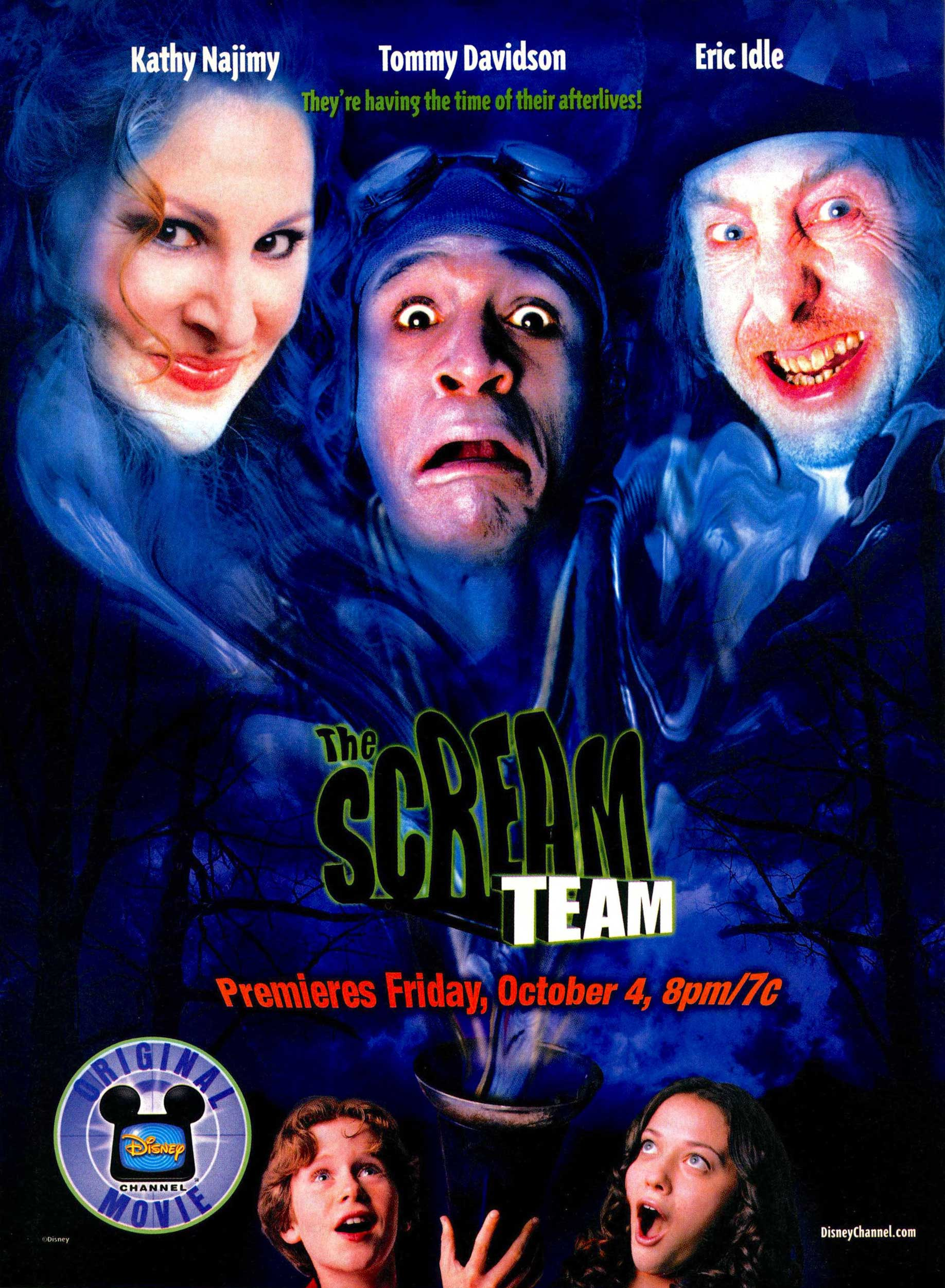 Affiche Poster patrouille fantôme scream team disney channel