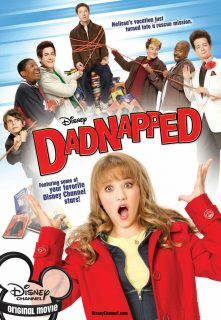 affiche poster sos daddy dadnapped disney channel