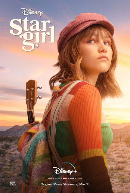 affiche poster stargirl disney+ plus