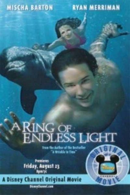 Affiche poster vacances inoubliables ring endless light disney channel